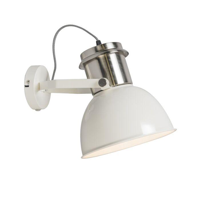 Industrial-wall-lamp-cream---Industrial