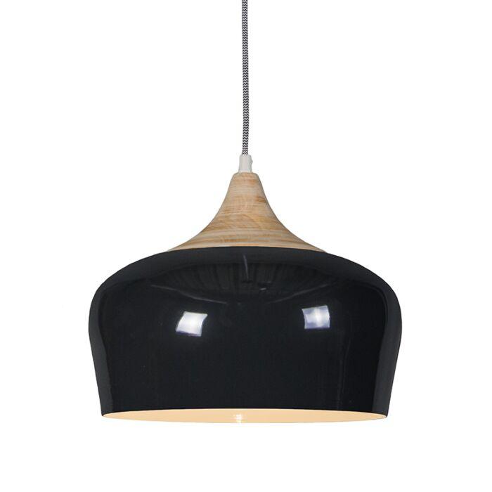 Pendant-Lamp-Pine-Black
