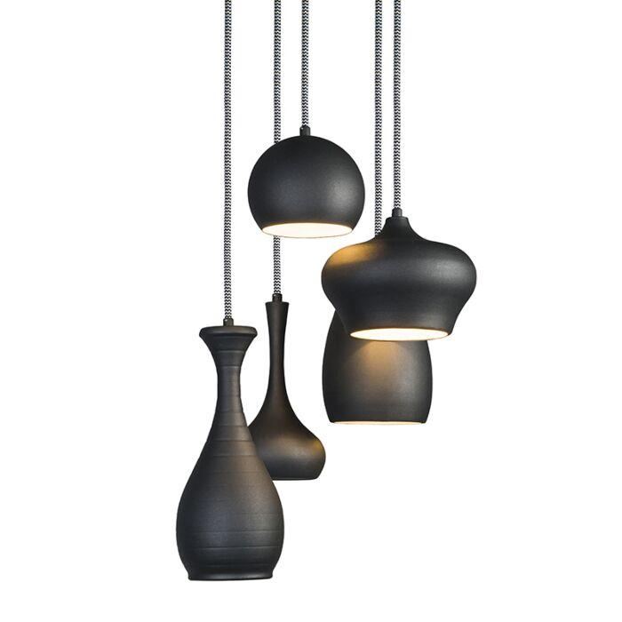 Pendant-Lamp-Drops-5-Black