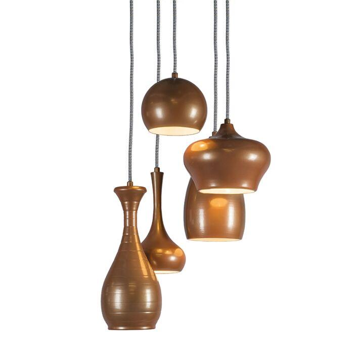 Pendant-Lamp-Drops-5-Copper