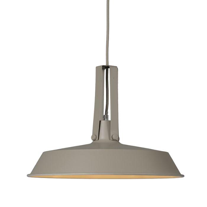 Pendant-Lamp-Living-40cm-Grey