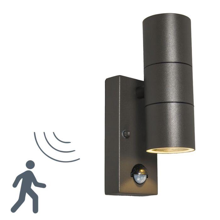 Outdoor-Wall-Lamp-Duo-PIR-Dark-Grey