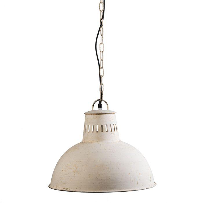 Pendant-Lamp-Rustic-Antique-White