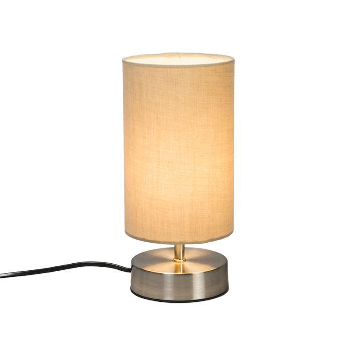 Table-Lamp-Milo-2-Round-Beige