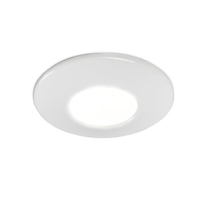 Modern-recessed-spot-white-IP44---Gap