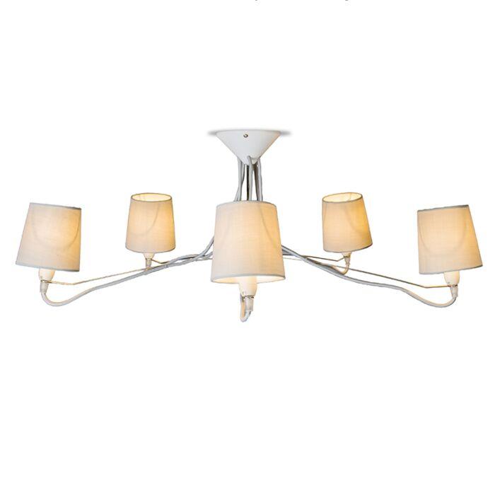 Ceiling-Lamp-Cinco-Grey