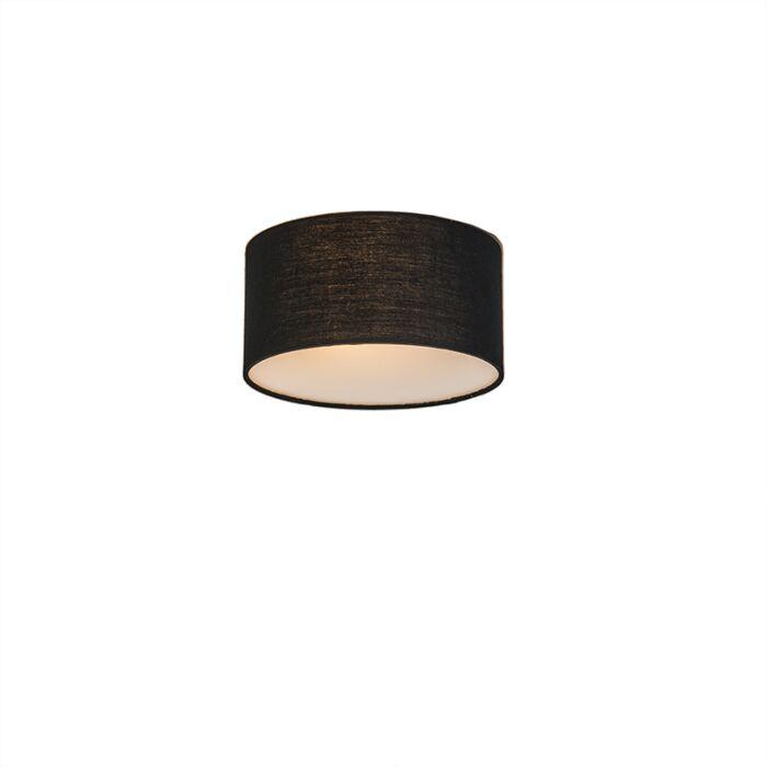Ceiling-Lamp-Drum-Basic-20-Black
