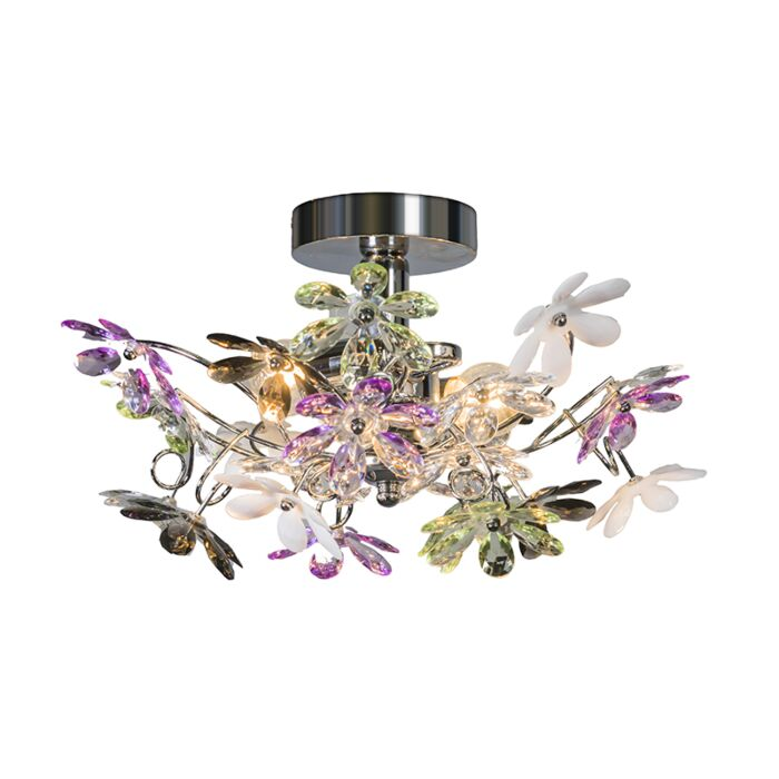Ceiling-light-chrome-38-cm---Fiore