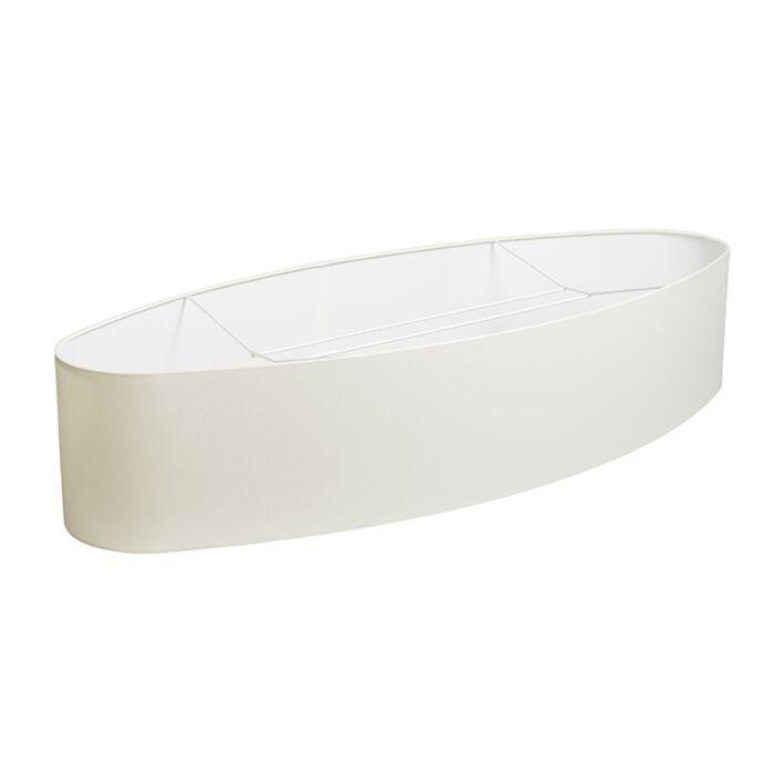 Shade-Oval-Cream---White