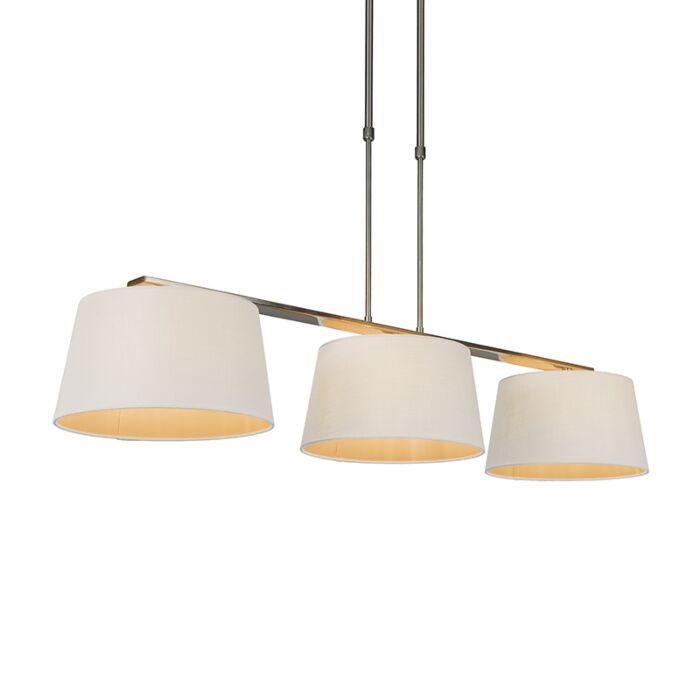 Pendant-Lamp-Combi-Delux-3-with-Round-Shades-30cm-White