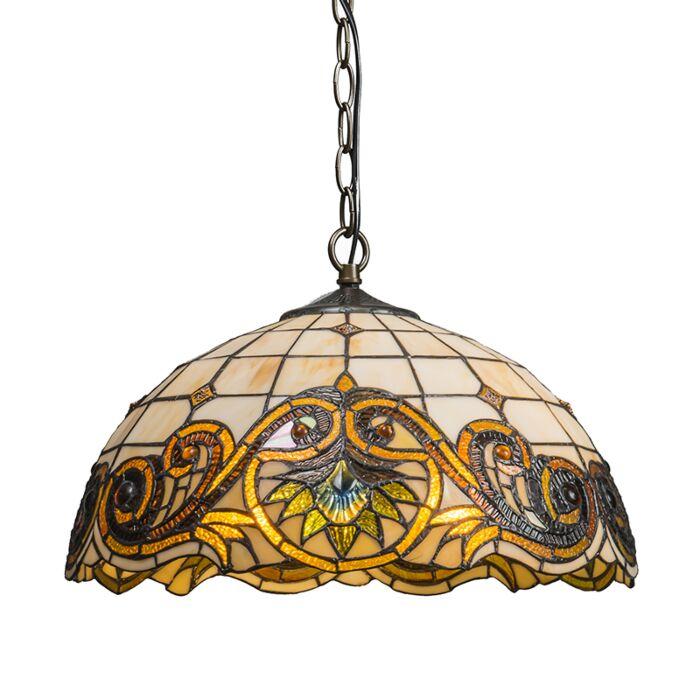Pendant-Lamp-Tiffany-Sunflower-2