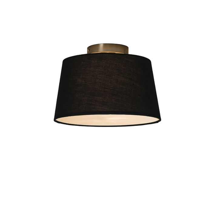 Ceiling-Lamp-Combi-30cm-Black-with-Diffuser