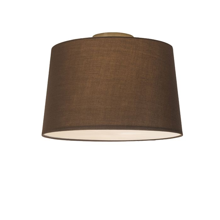Ceiling-Lamp-Combi-40cm-Brown-with-Diffuser