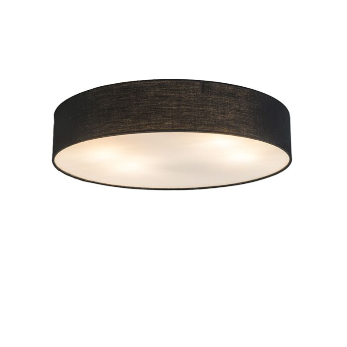 Ceiling-Lamp-Drum-Basic-50-Black
