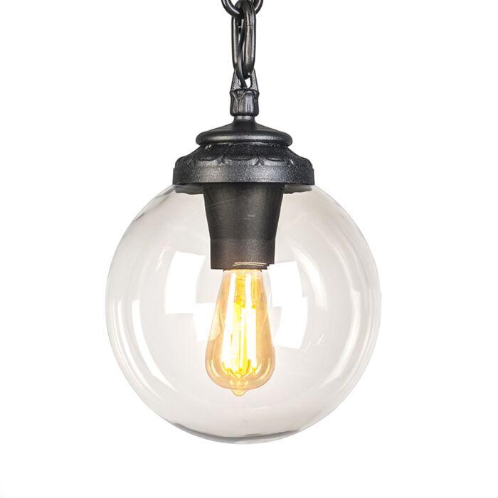 Industrial-outdoor-hanging-lamp-black-IP55---Sichem
