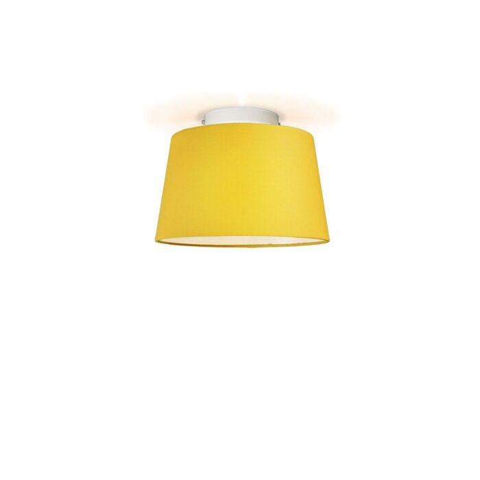 Ceiling-Lamp-Ton-Round-30-Yellow