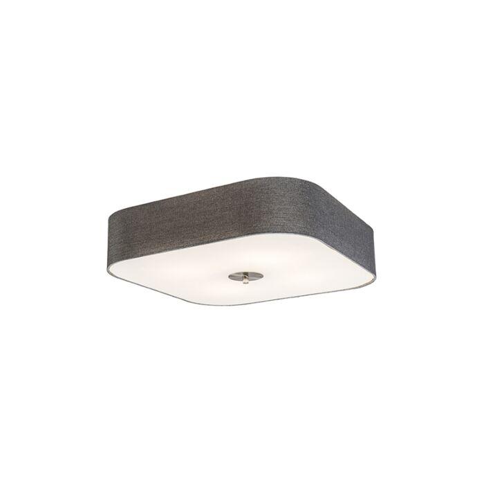 Square-Ceiling-lamp-50cm-Grey---Drum-Deluxe-Jute