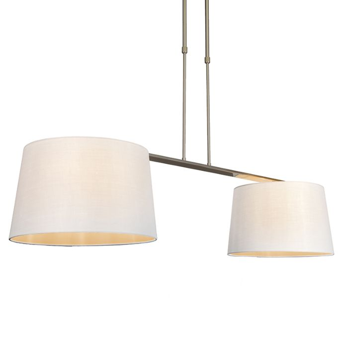 Pendant-Lamp-Combi-Delux-2-with-Round-Shades-40cm-White