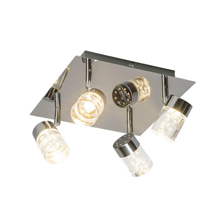 Ceiling-Lamp-Jar-4-Chrome