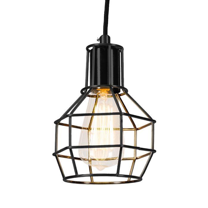 Pendant-Lamp-Licor-Black