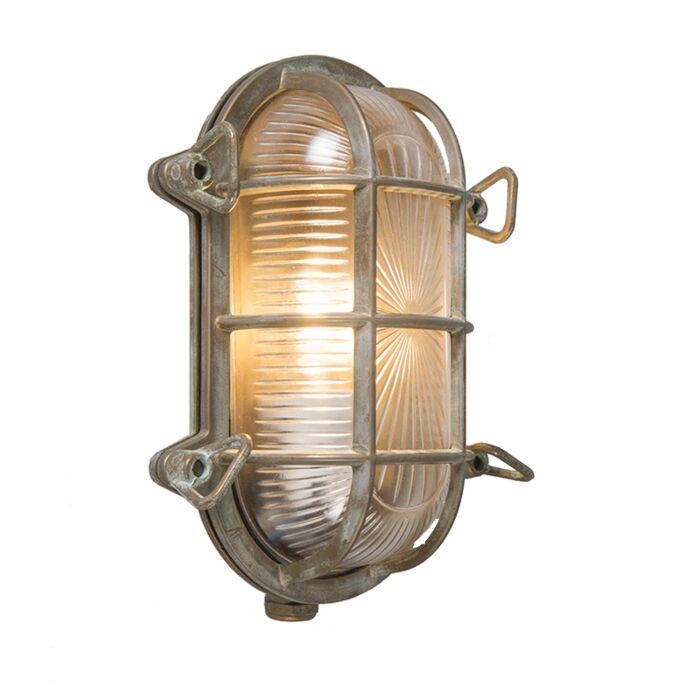Retro-wall-lamp-brown-23-cm-IP44---Nautica-1-oval