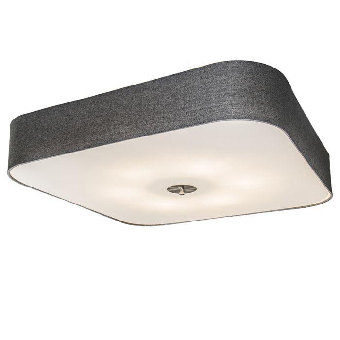 Ceiling-Lamp-Drum-Deluxe-70-Square-Jute-Grey