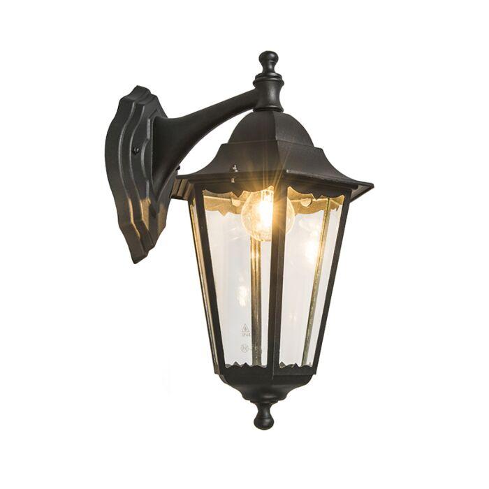Classic-Wall-Lantern-Black-IP44---New-Orleans-Down