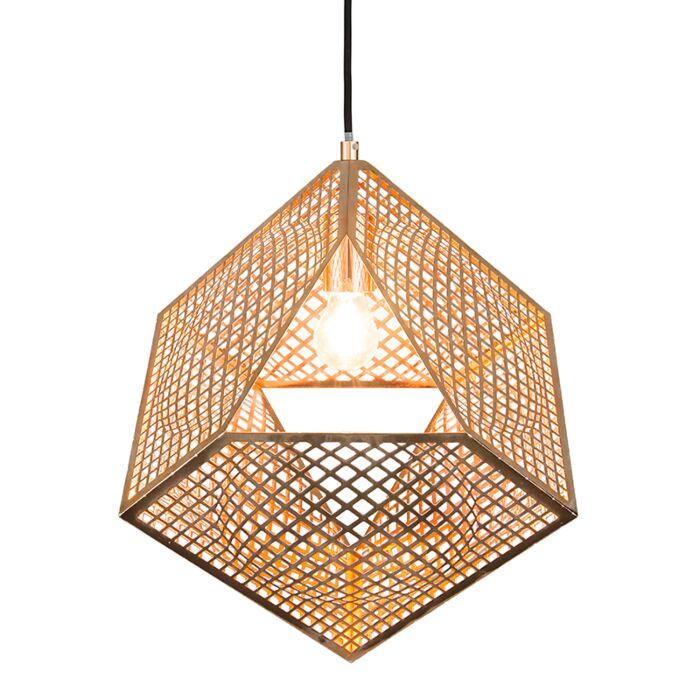 Pendant-Lamp-Basket-Copper