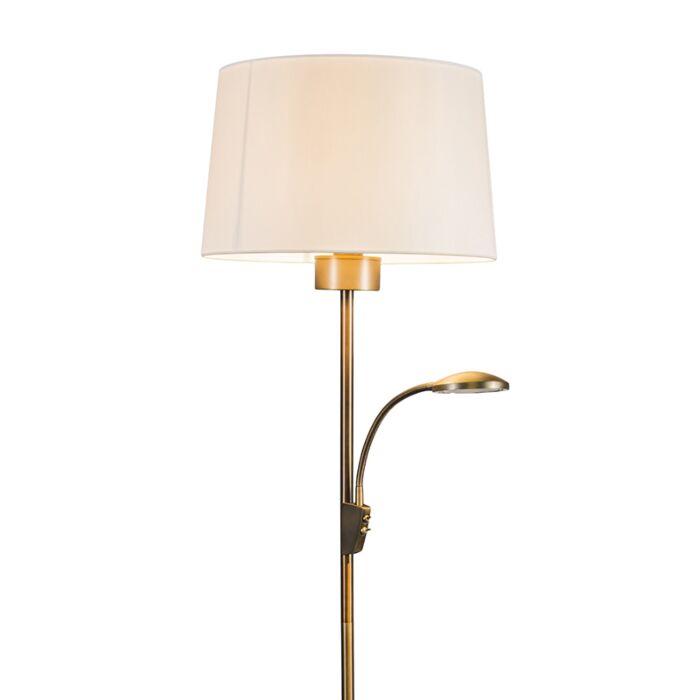 Floor-Lamp-Trento-Combi-Bronze-with-Shade