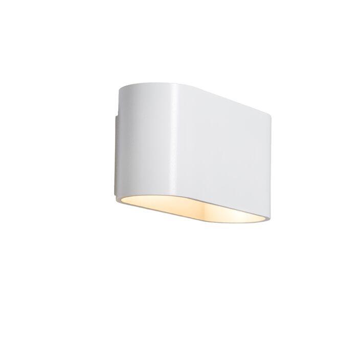 Wall-Lamp-Alone-White-Silver