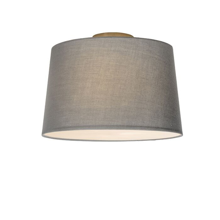 Ceiling-Lamp-Combi-40cm-Grey-with-Diffuser