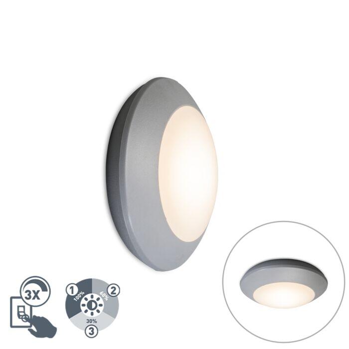 Modern-ceiling-lamp-gray-IP65---Bertina