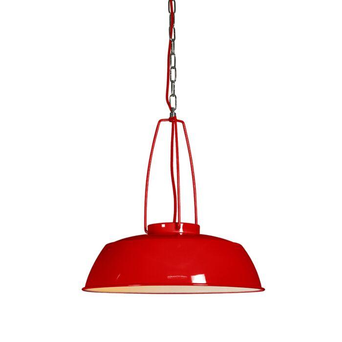 Pendant-Lamp-Usine-Red