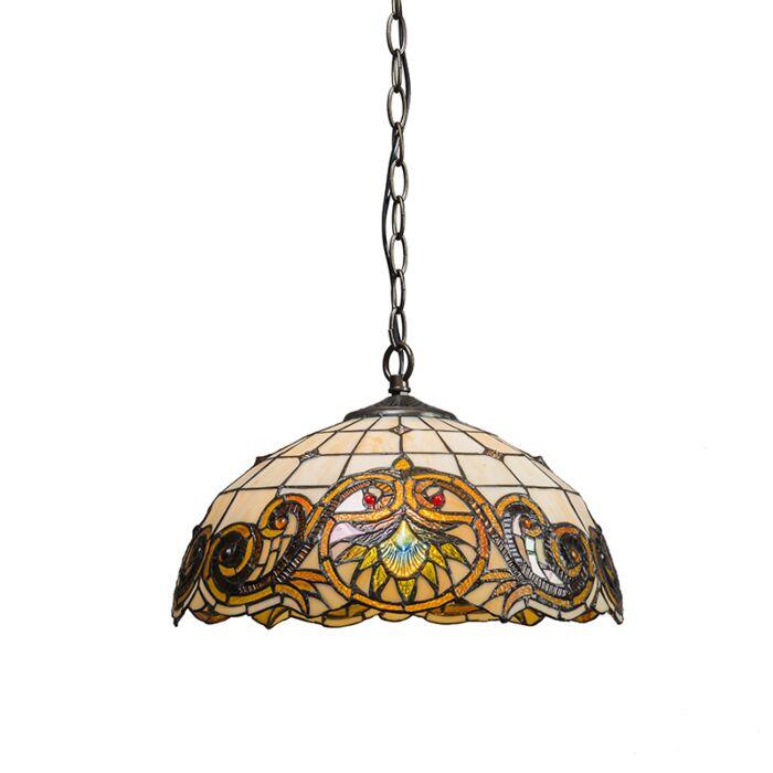 Pendant-Lamp-Tiffany-Sunflower-1