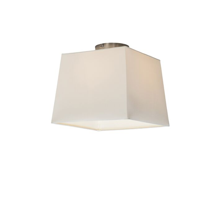 Ceiling-Lamp-Combi-with-Square-Shade-30cm-White