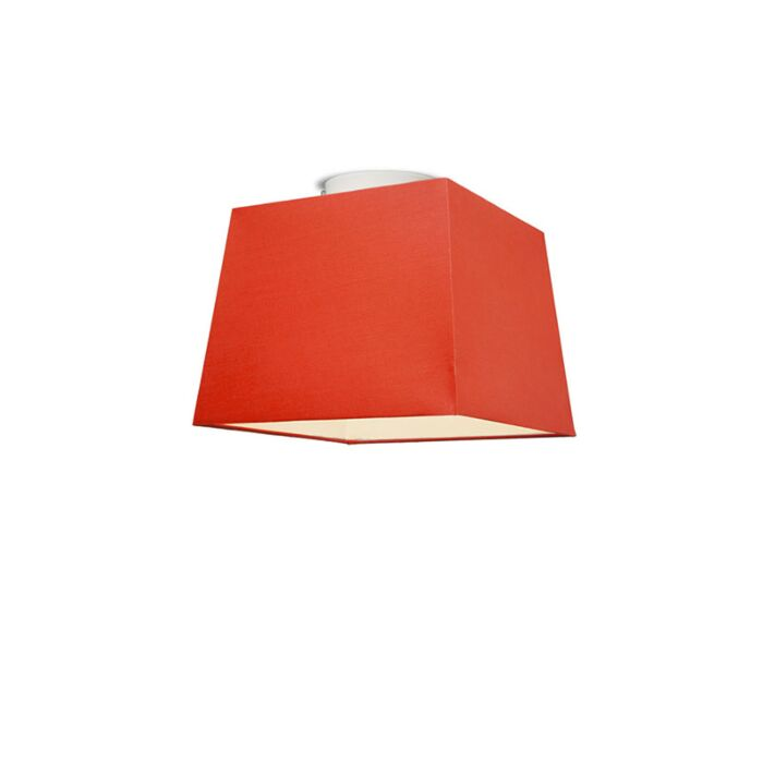 Ceiling-Lamp-Ton-Square-30-Red