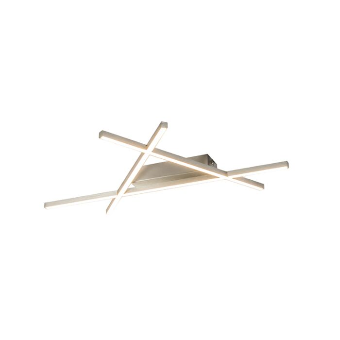 Modern-Ceiling-Lamp-Steel-incl.-LED---Mikado-Triangle