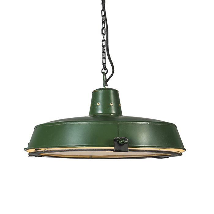 Pendant-Lamp-Sturdy-Green