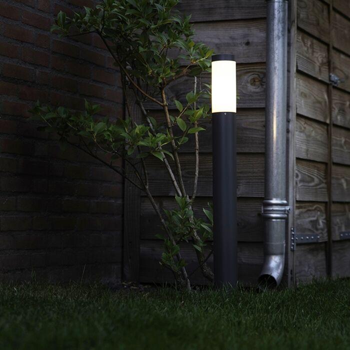 Outdoor-lamp-post-anthracite-80-cm-IP44---Rox