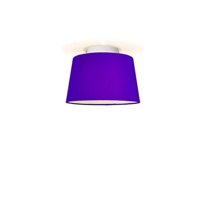 Ceiling-Lamp-Ton-Round-30-Purple