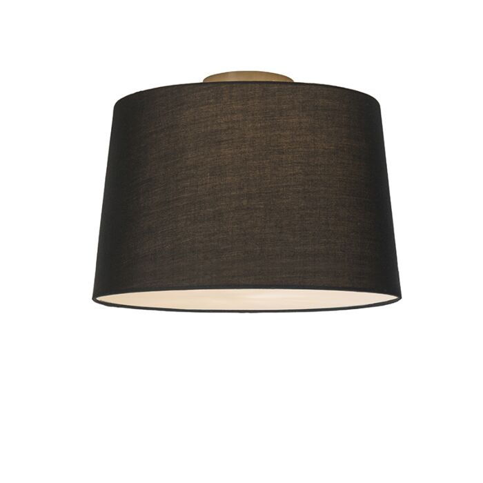 Ceiling-Lamp-Combi-40cm-Black-with-Diffuser