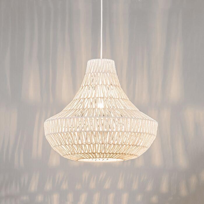 Retro-hanging-lamp-white-50-cm---Lina-Cono-50
