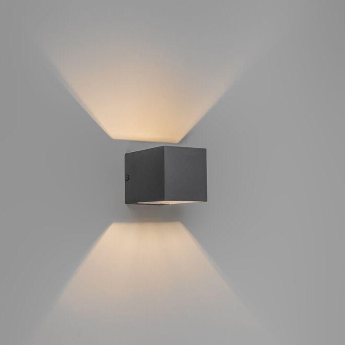 Modern-wall-lamp-dark-gray---Transfer