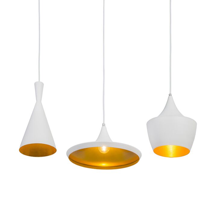 Pendant-Lamp-Depeche-3-White-with-Gold
