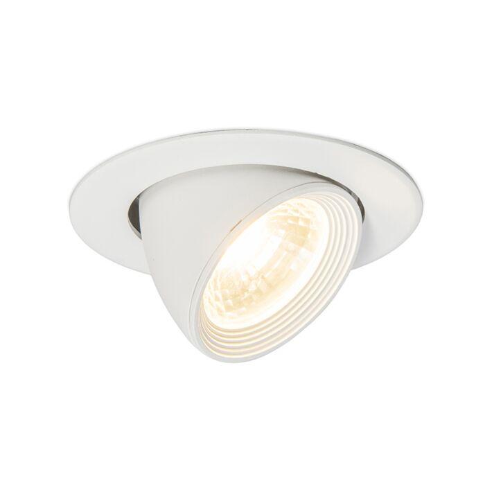 Recessed-spotlight-Twingo-2-White