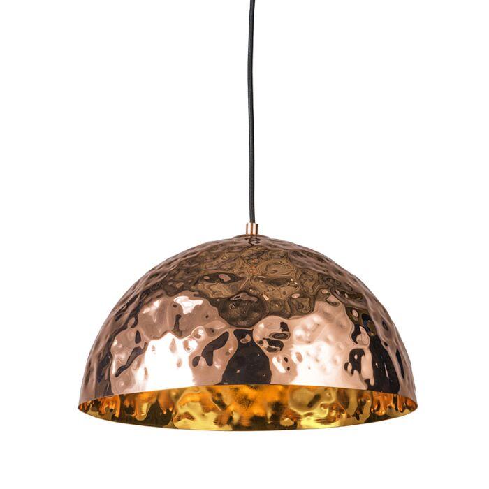 Pendant-Lamp-Dents-40-Copper