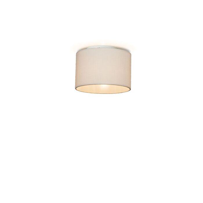 Ceiling-Lamp-Drum-20-Cream-White
