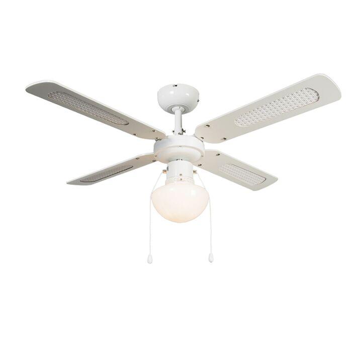 Ceiling-Fan-Wind-42-White