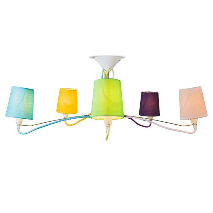 Ceiling-Lamp-Cinco-Multi-Colour