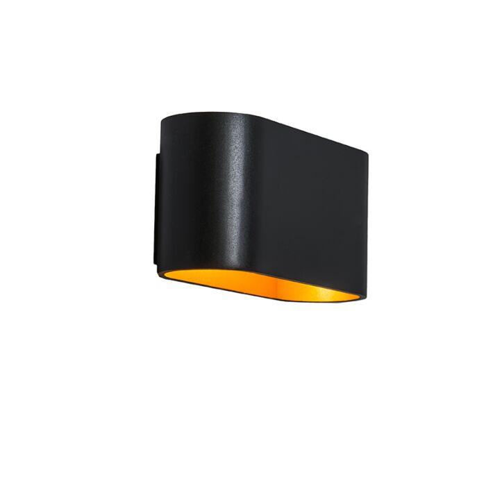 Wall-Lamp-Alone-Black-Gold
